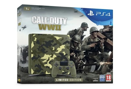 PlayStation Edicion Limitada Call of Duty WWII