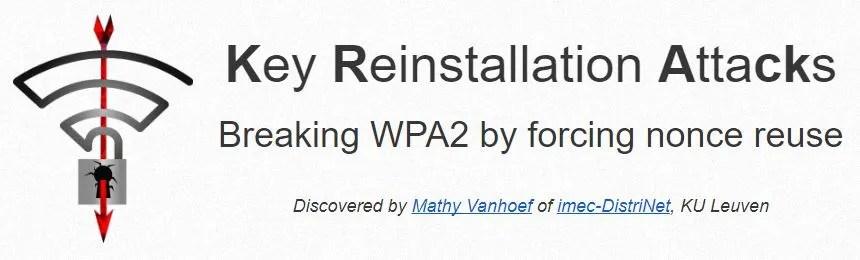 KRACK WPA2 Wi-Fi