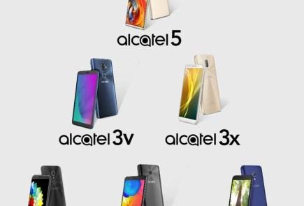 smartphones alcatel 2018