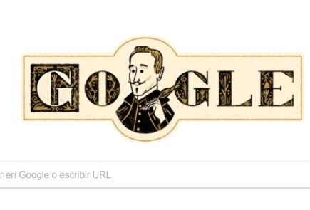 Lope de Vega protagoniza el 'doodle' de Google en su 455º aniversario