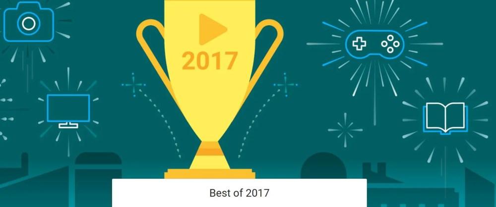 Las mejores aplicaciones Android del 2017 según Google
