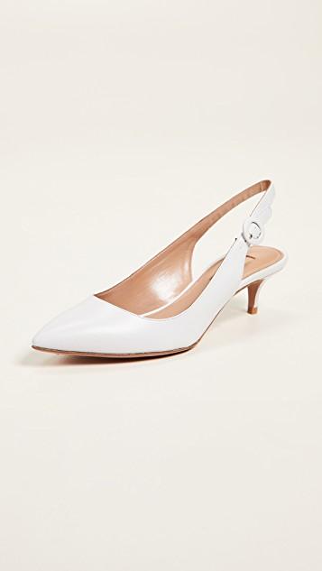 kitten–heel–white–shoe