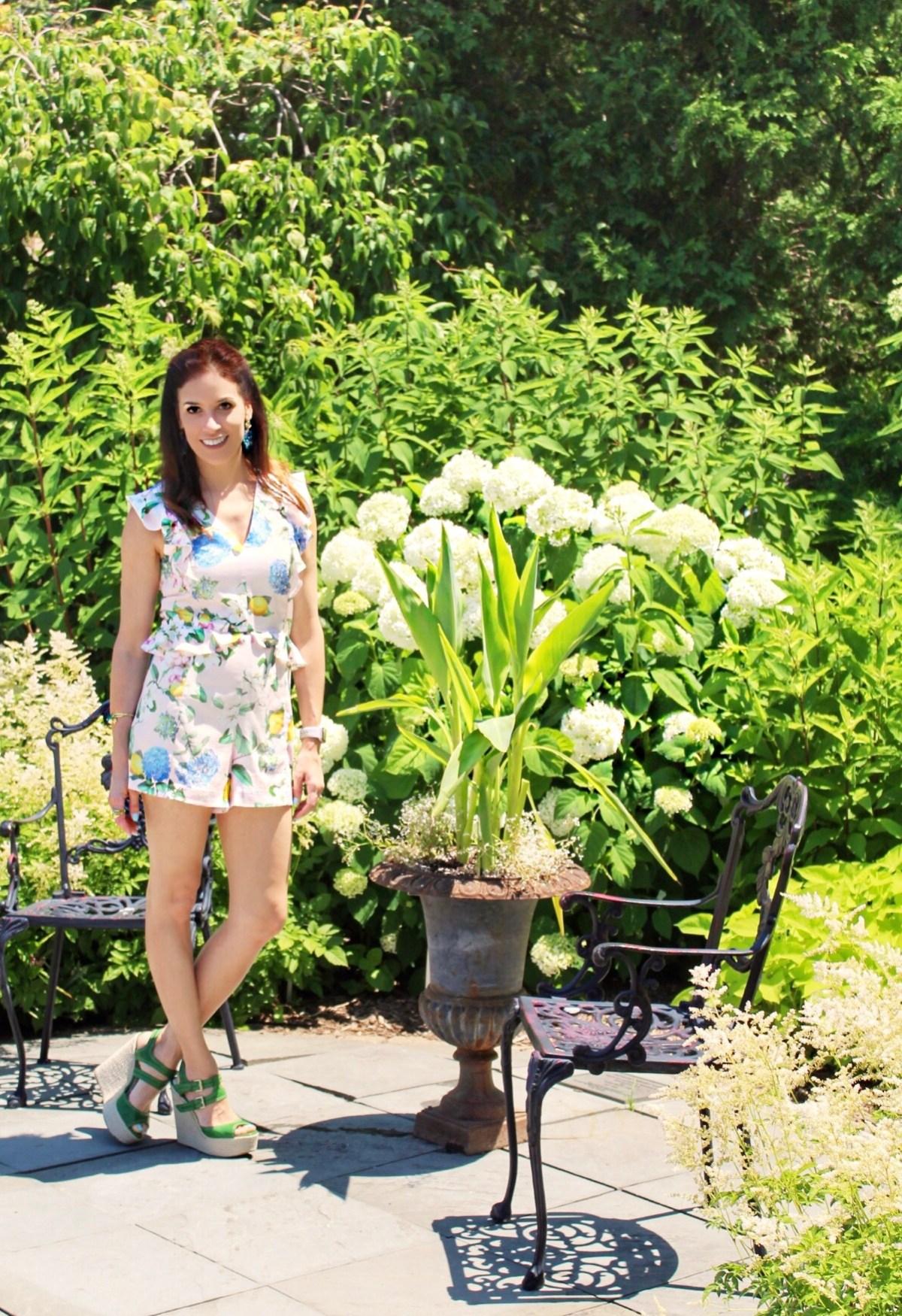 floral–romper