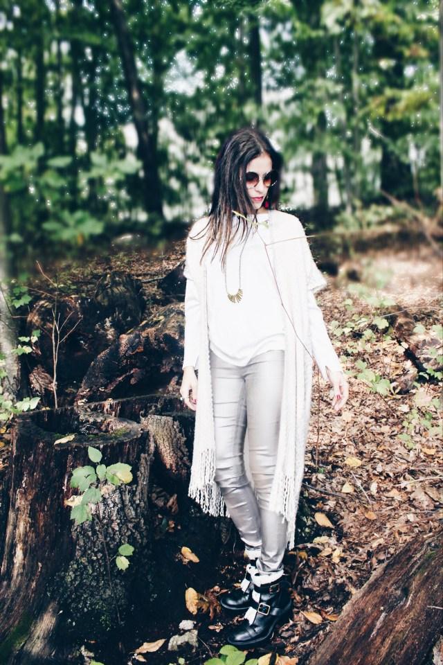 metallic–jeans