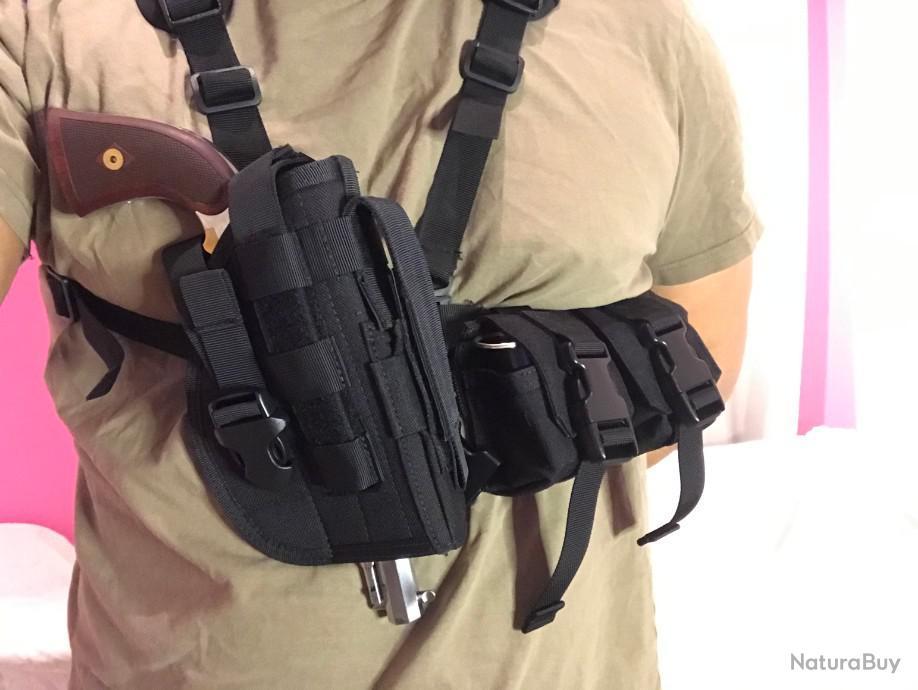 holster et accessoires de port tactique pour revolver poudre noire remington 1858 colt