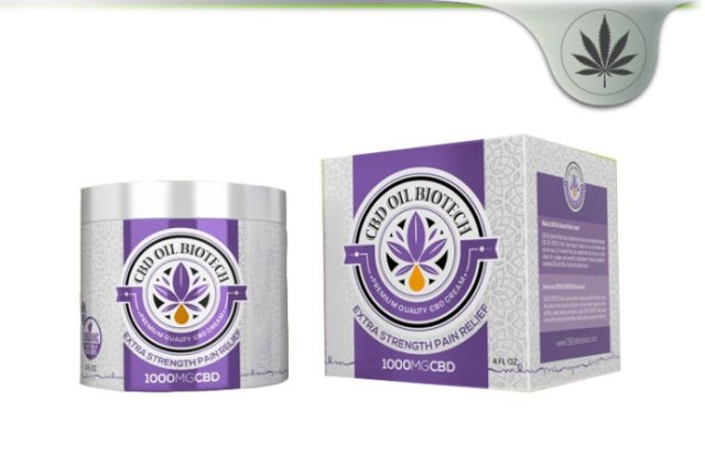 CBD Oil Biotech Pain Cream