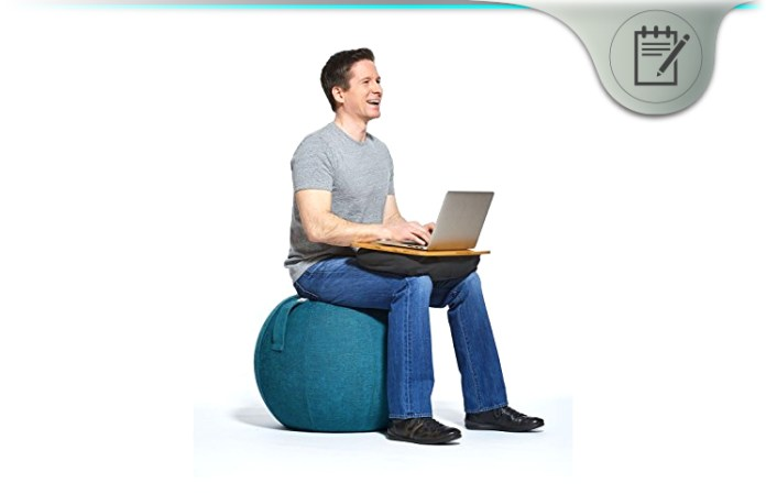 there has never been an invention with the possibility of replacing the office chair and providing health benefits while at it until now