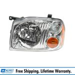 Headlight Headlamp Lh Left Driver Side For 01 04 Nissan Frontier Xe Pickup Truck Ebay