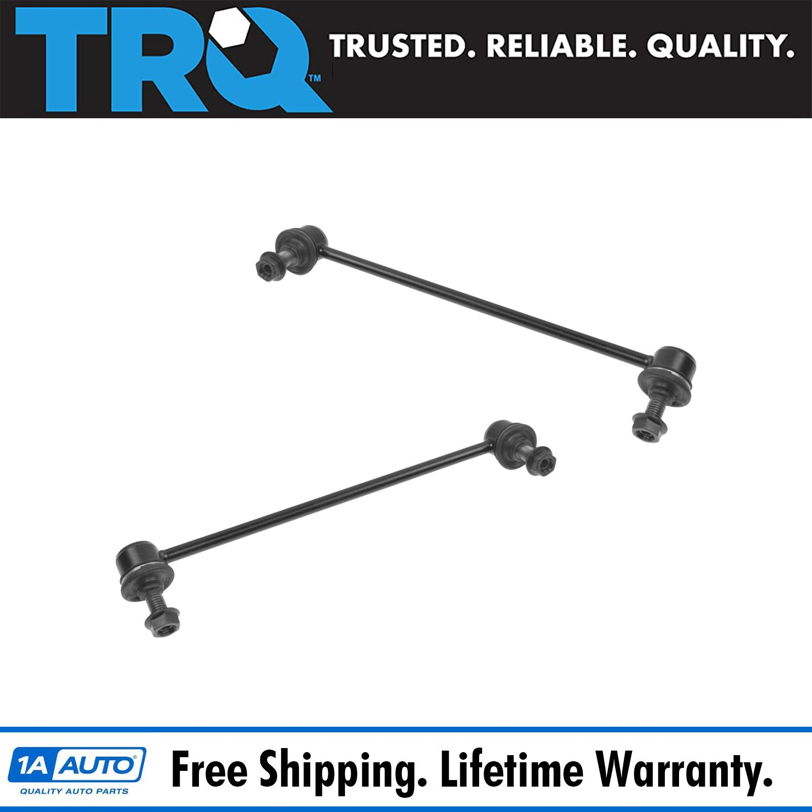 2 Front Sway Stabilizer Bar End Links Pair Left Amp Right