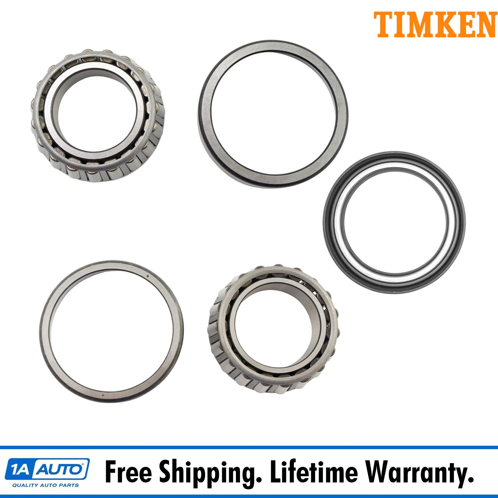 Timken Front Inner Outer Wheel Bearing Amp Race With Seal Lh