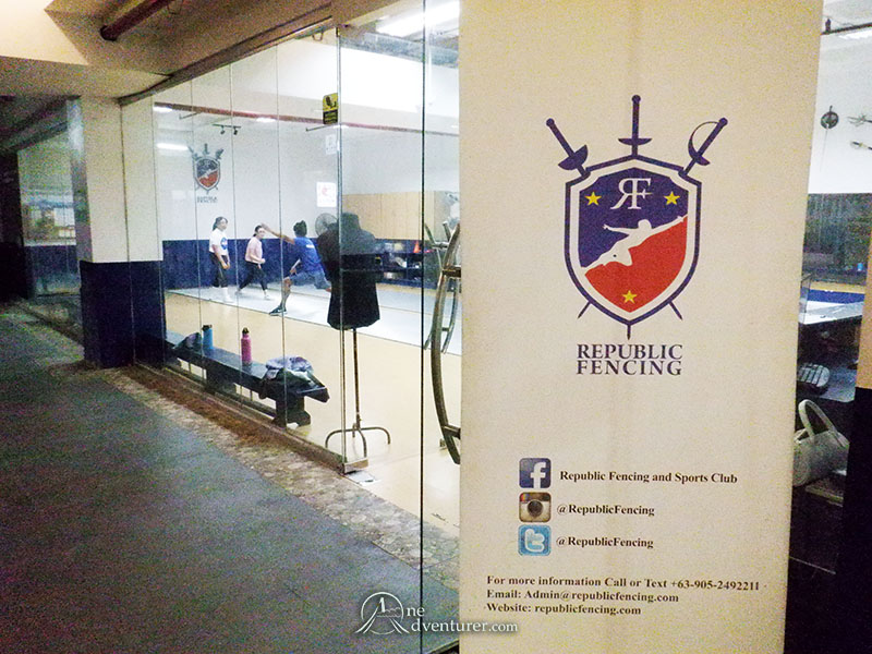republic fencing makati central square basement