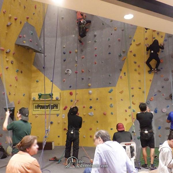 rox wall climbing
