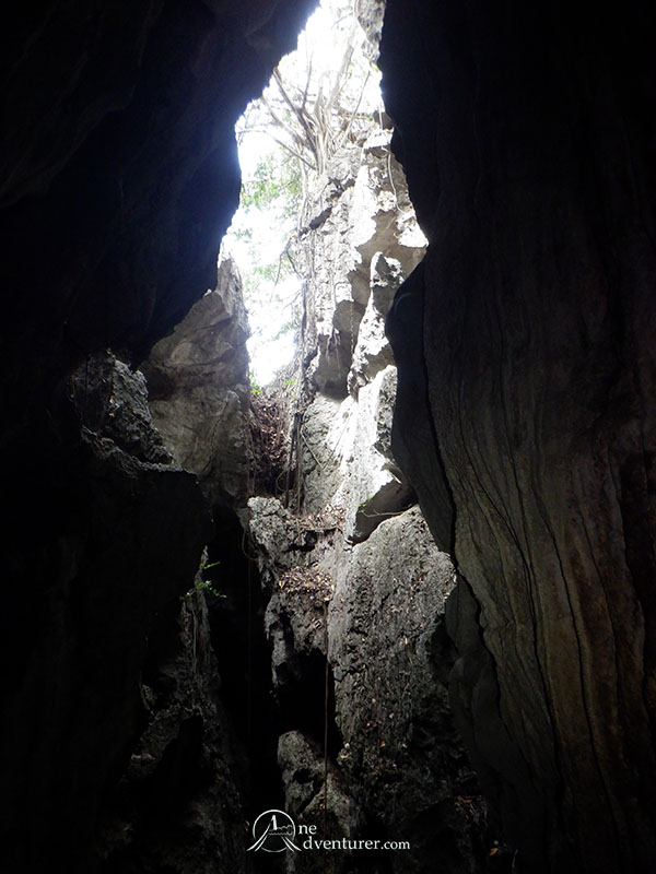 bayukbok cave view underground