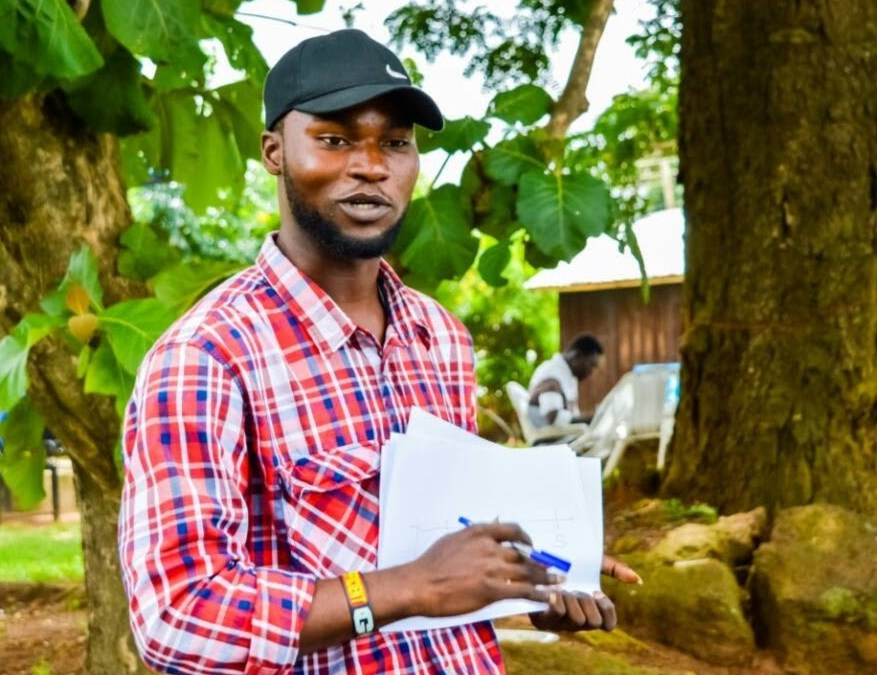 Volunteers Tuesday: Meet Okeowo Segun