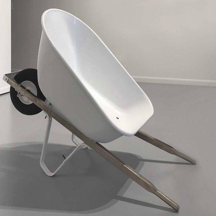 Wheelbarrow Lounge Chair, 2018