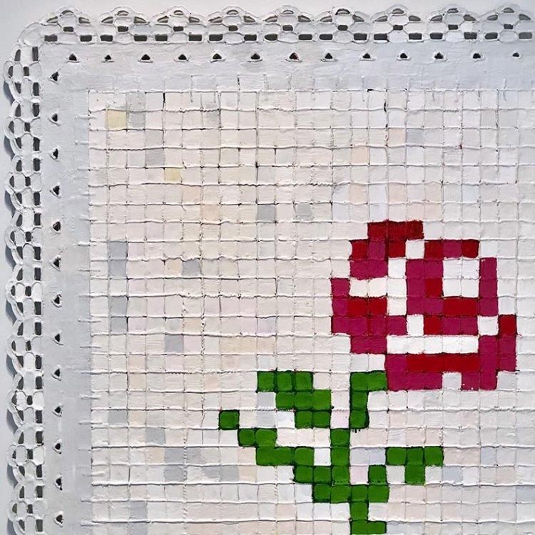Rosas 001, 2018