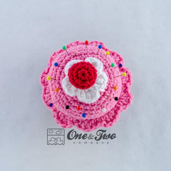 Cupcake Pincushion Free Crochet Pattern One And Two Company