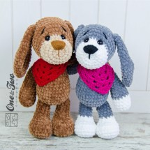 One and Two Company - Joe the Puppy Amigurumi