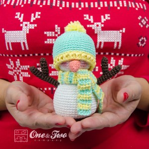 One and Two Company - Snowman Amigurumi Free Crochet Pattern