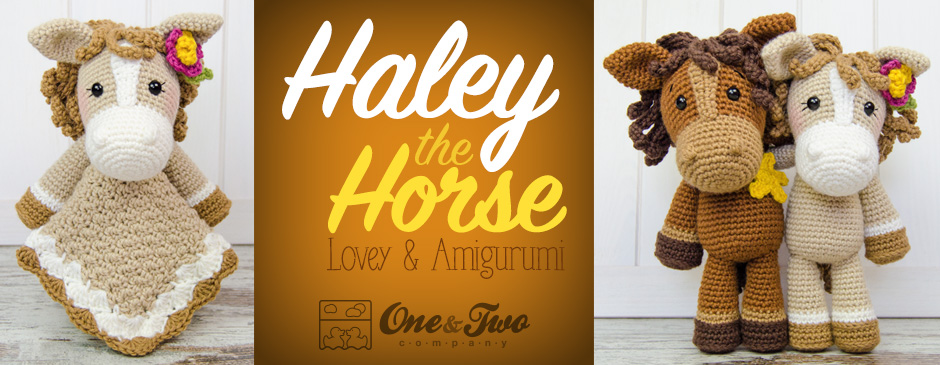 Haley The Horse Lovey And Amigurumi New Crochet Patterns One And