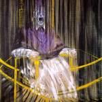教皇英诺森十世肖像的习作 by 弗朗西斯·培根