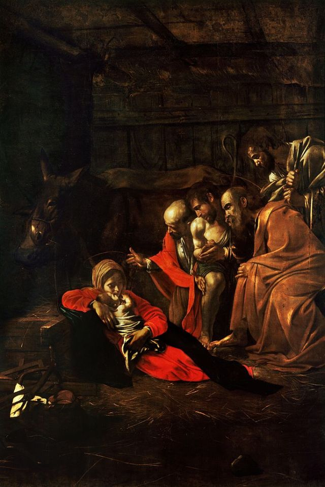 Adoration_of_the_Shepherds-Caravaggio_(1609)