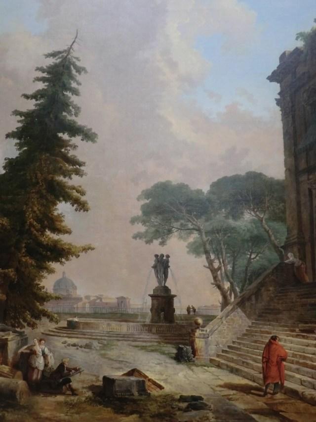 The Athenaeum - Terrasse d'un palais à Rome