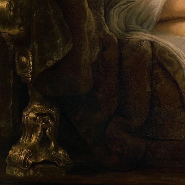 Rembrandt Danaë, 1636