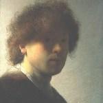 早期自画像·伦勃朗