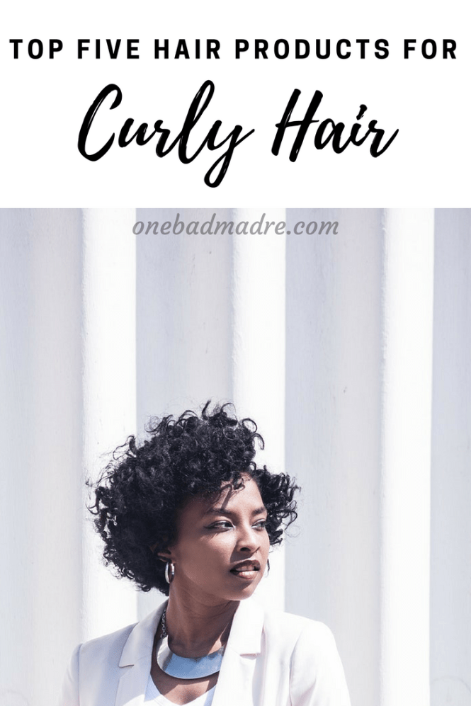 A few of the best products for curly hair. #CurlyHair #HairProducts #Curls