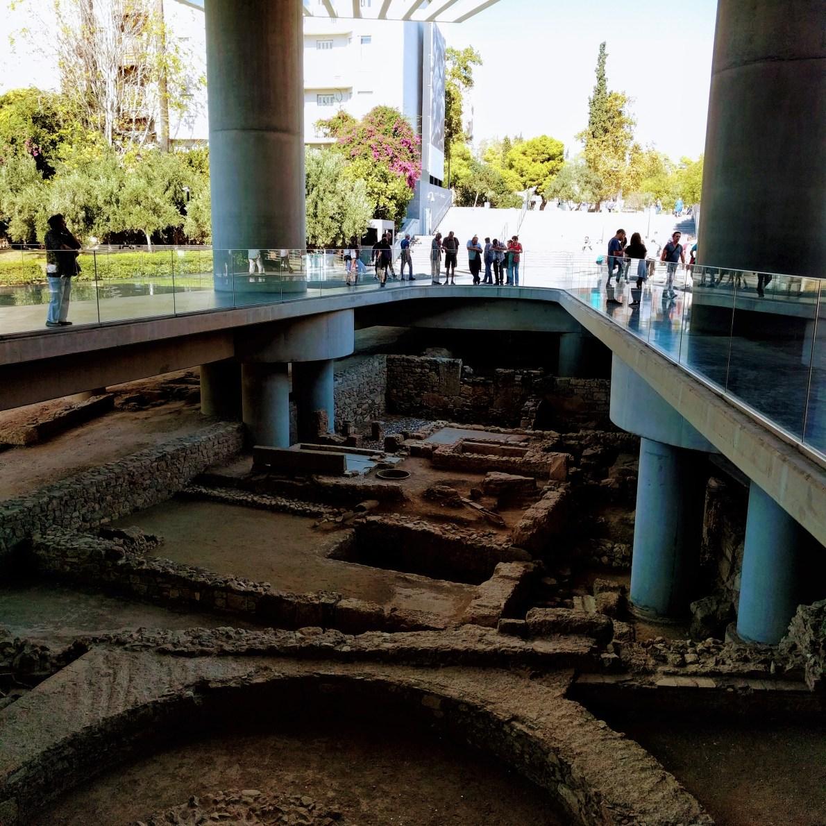 Acropolis Museum Entrance
