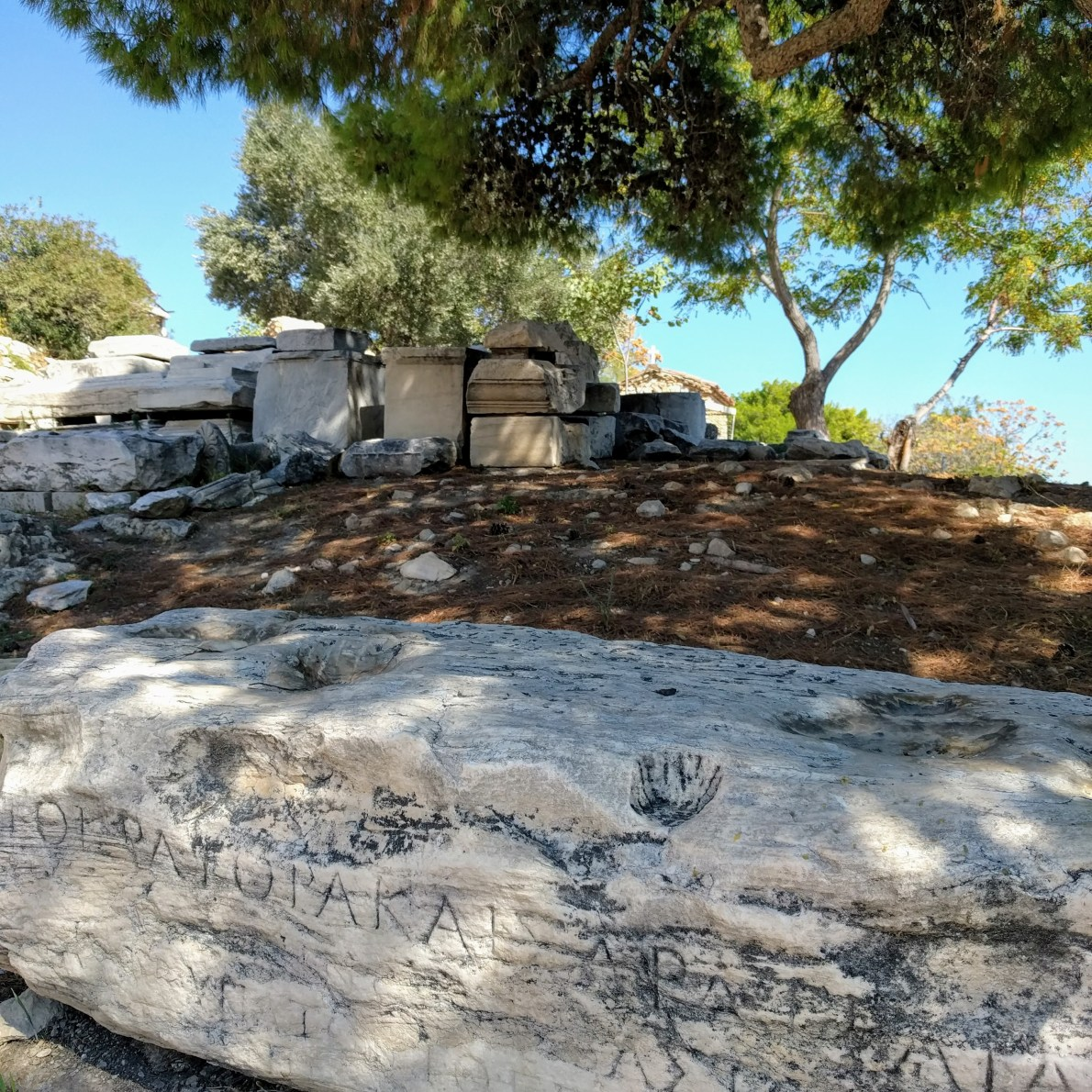 Theatre of Dionysus Ruins