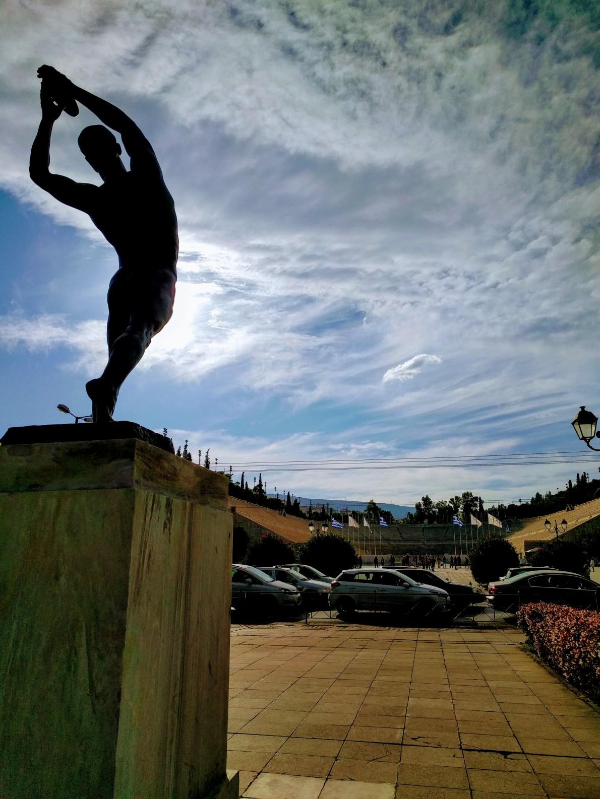 Statue Outside of Panathenaic Stadium