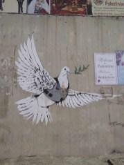 Banksy Target Dove-Bethlehem