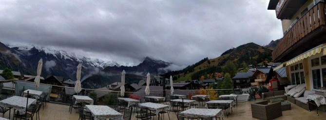 Panoramic View-Mürren, Switzerland