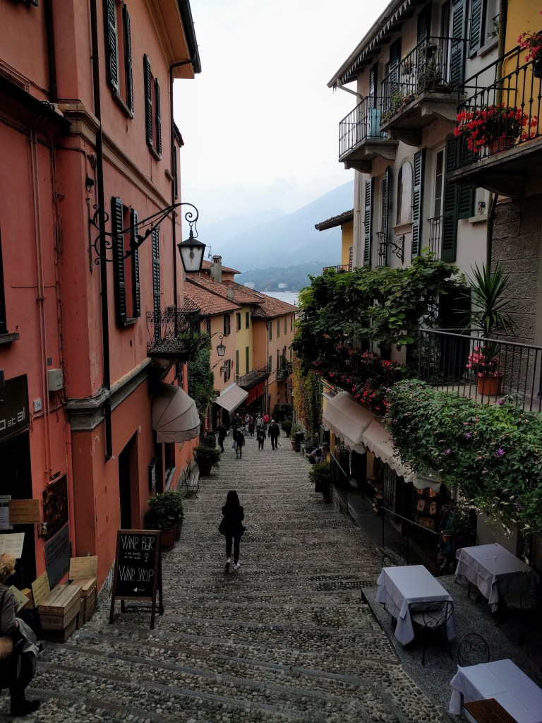 Streets of Bellagio, Italy