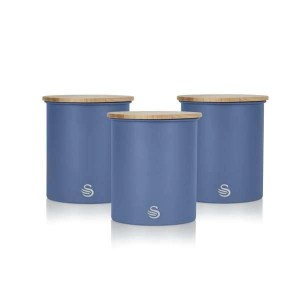 Nordic Set of 3 Storage Canisters