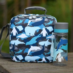 My Little Lunch Arctic Camo Lunch Bag