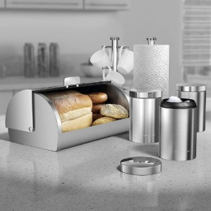 Morphy Richards Accents 6 Piece Storage Set Stainless Steel