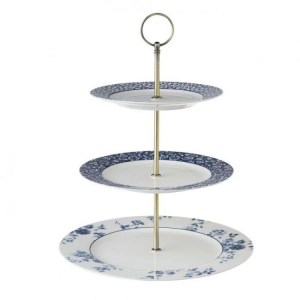 Laura Ashley China Rose 3-tier Cake Stand