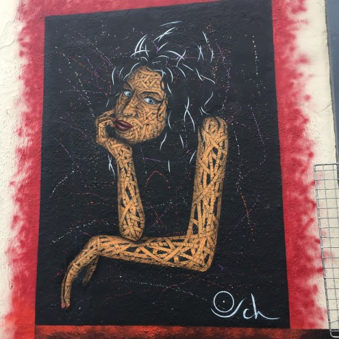 Amy Winehouse Street Art, Camden