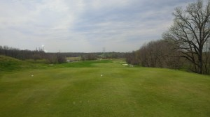 The long, ticklish 10th hole at Traditions was an apt beginning for the throat-punch that the back nine became for me.