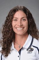Jenny King, Head Coach of the University of Akron Women's Golf Team.