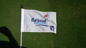 We played the Lake Course at Grand National a mere 9 days after it hosted the PGA's Barbasol Championship.