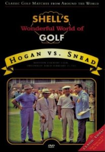 Oh, to be able to see the modern day equivalent of such an epic exhibition between the giants of golf.
