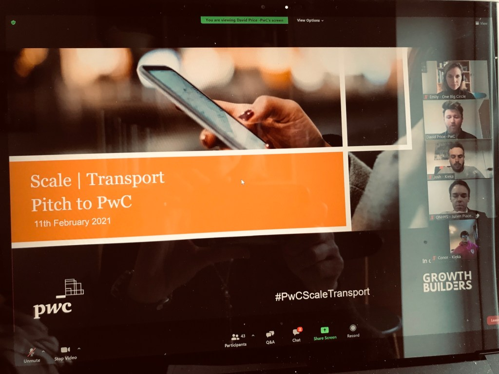 PwC Scale Transport Programme