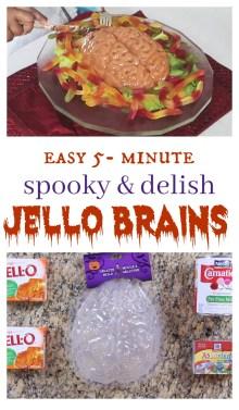 halloween food jello brains