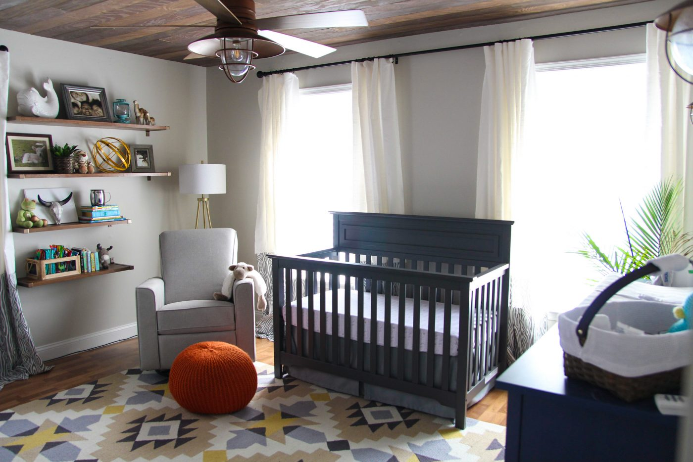 Baby Boy Nursery Decor Ideas The nursery isnu0027t completely finished (we still have some diy decor ideas  that we want to add over the next few months) but today weu0027re sharing the  progress ...