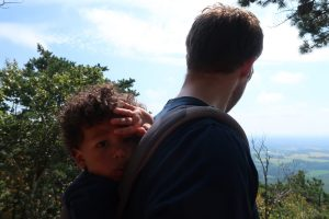 Hiking Sugarloaf Mountain Maryland with A Toddler