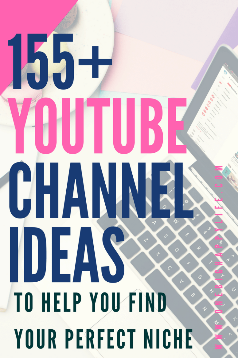 Grab your free list of 155 Youtube channel ideas and get started on Youtube today